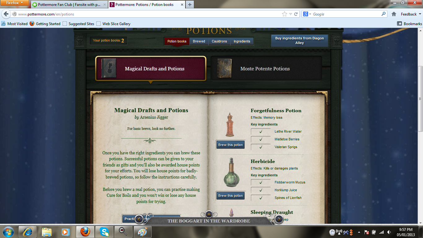 pottermore how to delete account