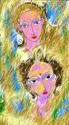 pleasing duo colorful voyage through the ocean of feelings