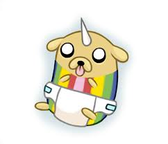rainicorn pup