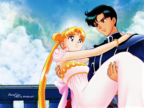 sailor moon anime couple
