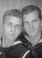 sailors - vintage-beefcake photo
