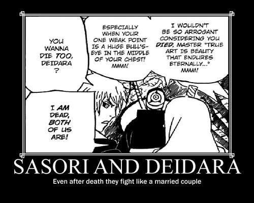 sasori and deidara