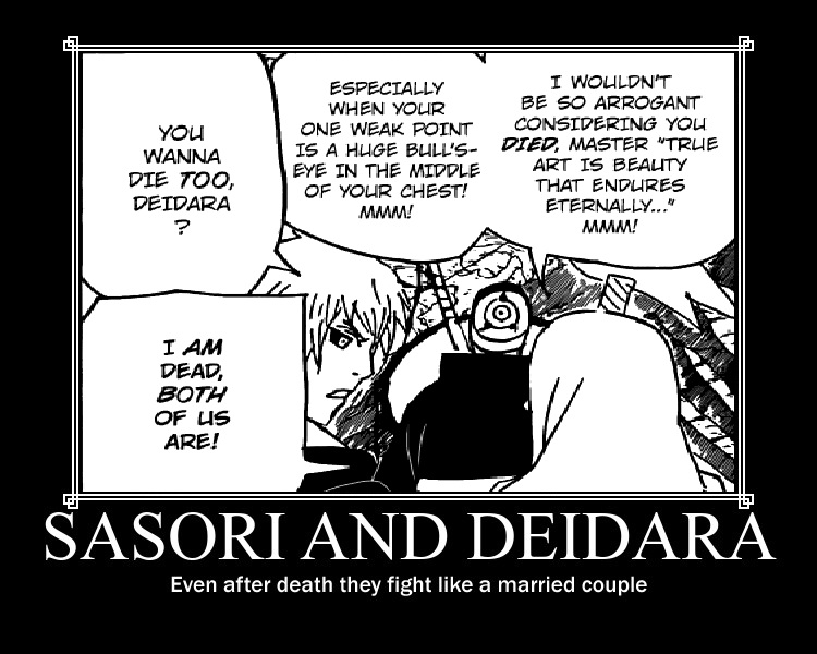 sasori and deid... Gaara Lemon