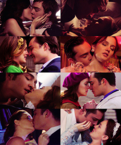 screencaps meme: chuck and blair + up close and personal