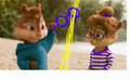 simon and jeanette  - the-chipettes fan art