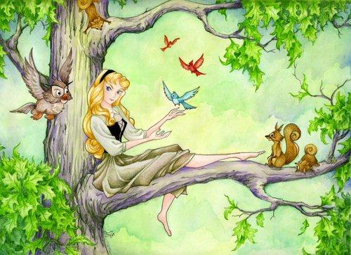 잠자는 숲속의 미녀