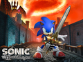 sonic the knight - sonic-characters wallpaper