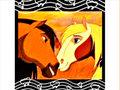 spirrit and rain - spirit-stallion-of-the-cimarron fan art