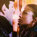 styar trek into darkness trailer - spock-and-uhura icon