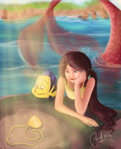 The Little Mermaid 2 壁紙 called the little mermaid 2