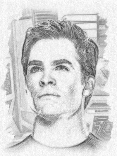 Young Kirk Bintang Trek Fan Art 33223893 Fanpop
