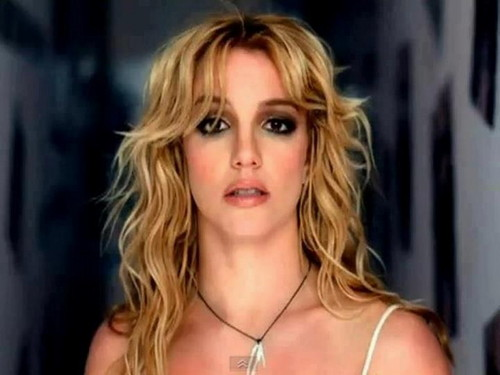Britney Spears achtergrond with a portrait called Britney