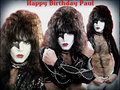  Happy Birthday Paul ~ January 20, 1952   - paul-stanley wallpaper