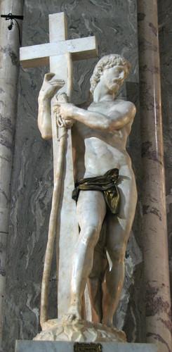 """Risen Christ"" is a sculpture made par Michelangelo in 1519- 1521"