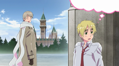 Hetalia wallpaper called ~Russia an England~