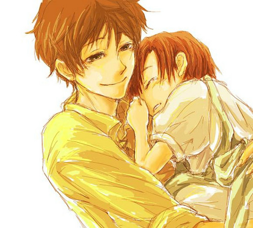 ~Spain and little Romano~