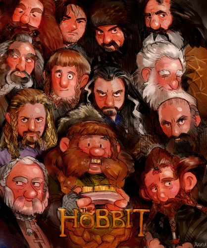 """The Hobbit"" Poster parody"