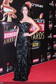 Katrina Kaif karatasi la kupamba ukuta possibly with a sign called @ screen award 2013