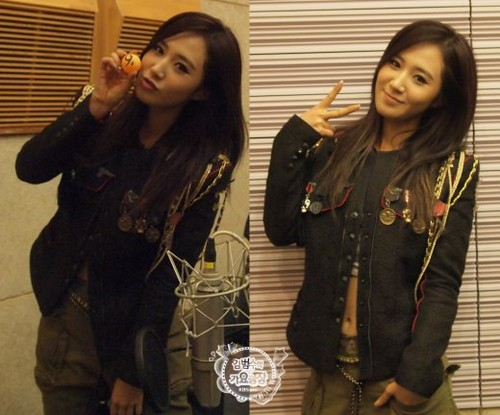 130114 Taeyeon & Tiffany & Yuri & Hyoyeon @ KBS Cool FM Kim BumSoo's Muzik Today
