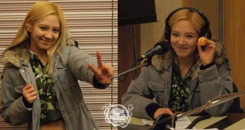 130114 Taeyeon & Tiffany & Yuri & Hyoyeon @ KBS Cool FM Kim BumSoo's 音乐 Today