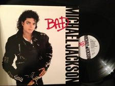 "1987 Release, ""BAD"" On LP 33 1/2 RPM"