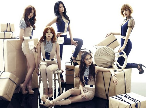 4Minute - pag-ibig Tension