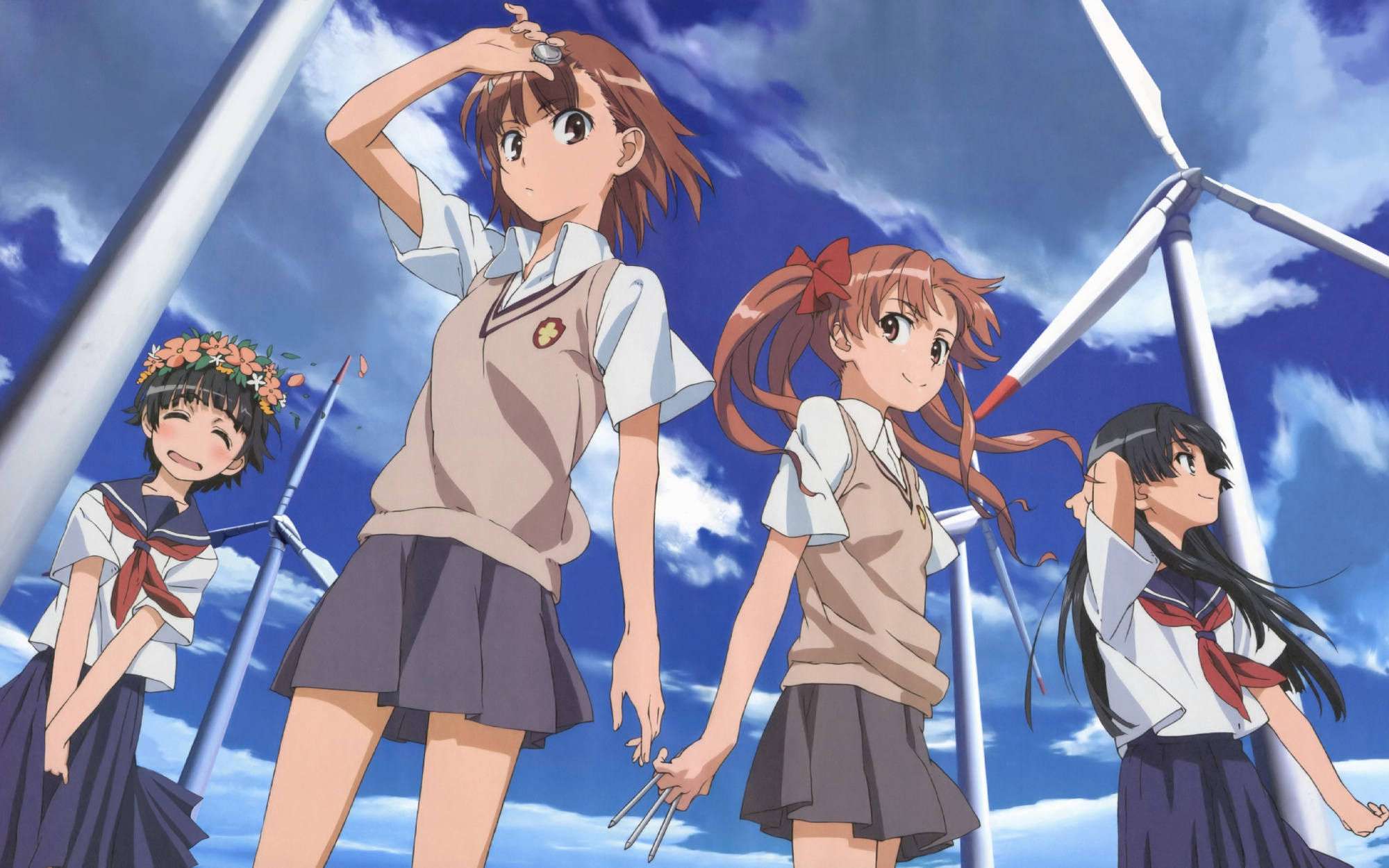 A Certain Magical Index hình nền possibly containing a chainlink fence and  anime called A Certain