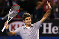 AO 2013 4th Round - roger-federer photo