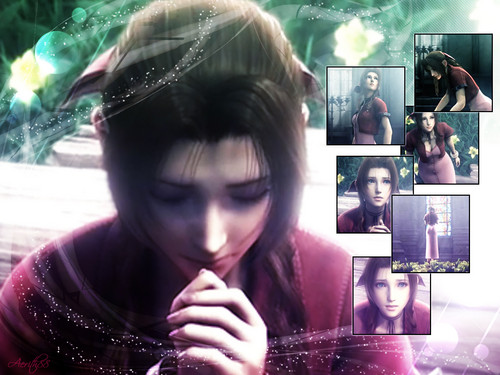 Aerith prays