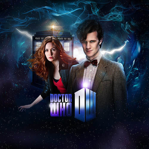 Amy and The Doctor ♥