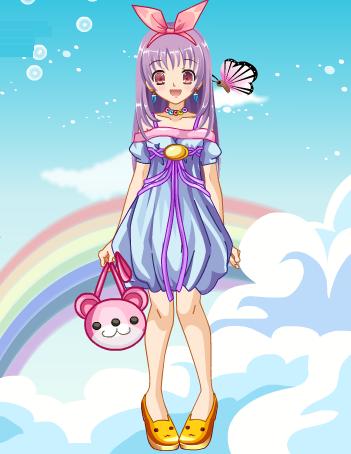 msyugioh123 wallpaper with anime entitled Anime girl dress
