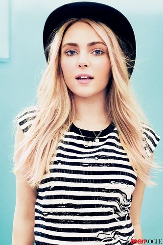 AnnaSophia - Photoshoot 2013 - Teen Vogue