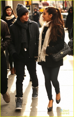 Ari out with jai in NYC