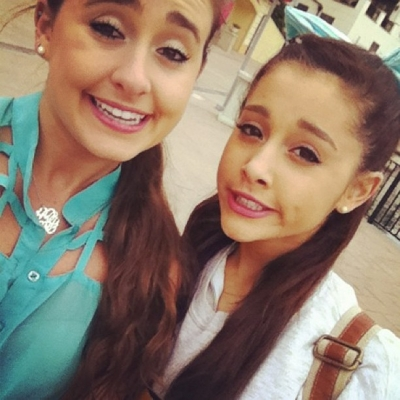 Ariana, Frankie, and Alexa in Orlando 1/18/13