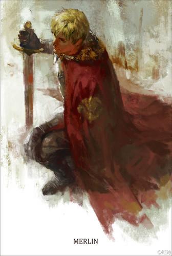 Arthur Pendragon (Painting) Stunning!