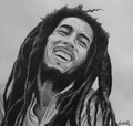 BOB MARLEY DRAWING - bob-marley fan art