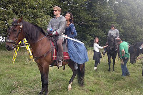 Arthur and Gwen wallpaper with a horse trail, a horse wrangler, and a racehorse called BTS - Bradley and Angel and Horsies (2)