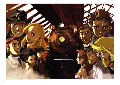 Baccano Official Pictures door Enami Katsumi