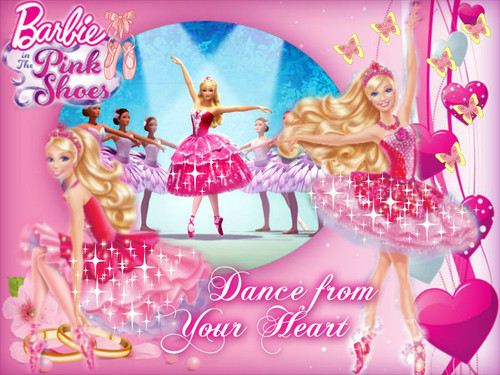 Barbie in The merah jambu Shoes