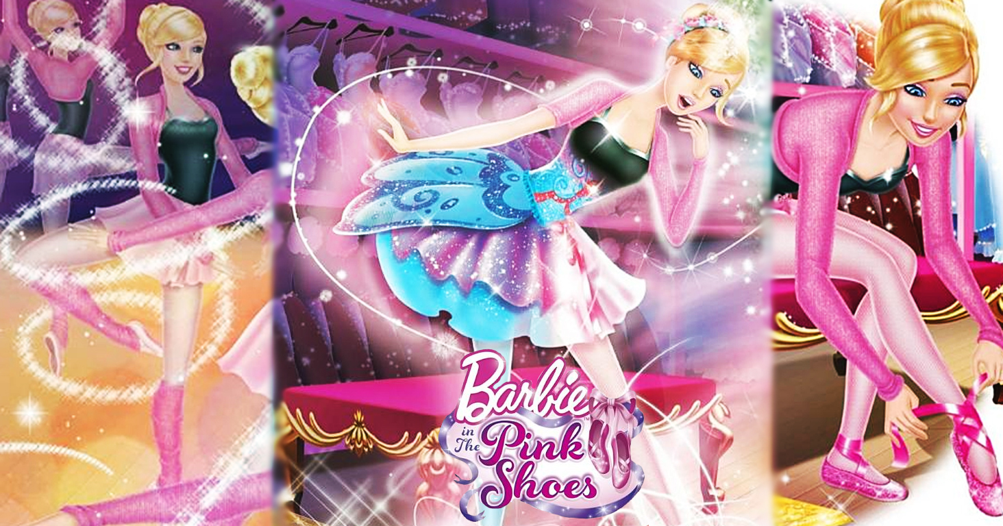 Barbie movies barbie in the pink shoes wallpaper