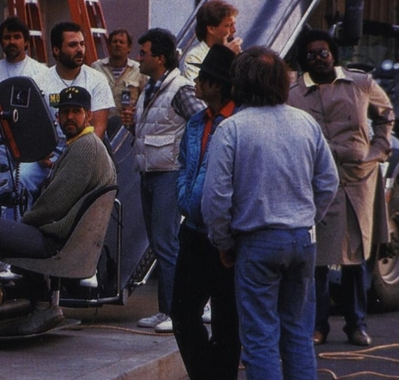 "Behind The Scenes In The Making Of ""Moonwalker"""