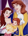 Belle & Adam With Their Baby