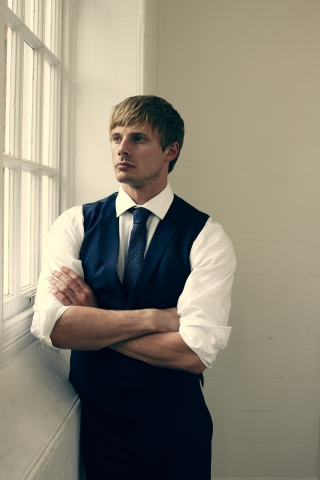 Bradley James wallpaper containing a business suit entitled Bradley