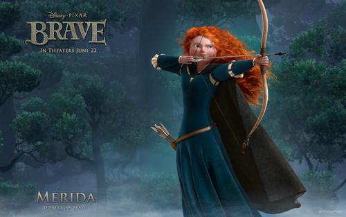 Merida - Legende der Highlands Merida Hintergrund