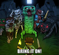 Bring it - minecraft fan art