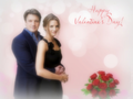 C&B Happy Valentine's Day - castle wallpaper