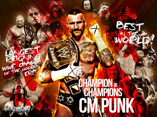 CM Punk - Champion of Champions