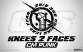 wwe - CM Punk - Knees 2 Faces wallpaper