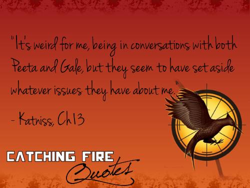 Catching 火, 消防 语录 101-120