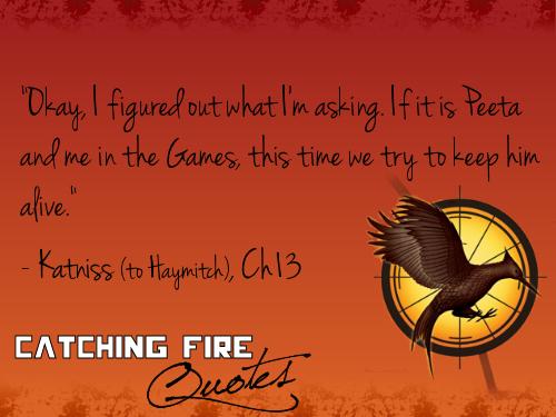 Catching 火災, 火 名言・格言 101-120